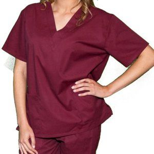 ❤️NEW DREAMCREST Ultra Soft Women's Scrub Top XL